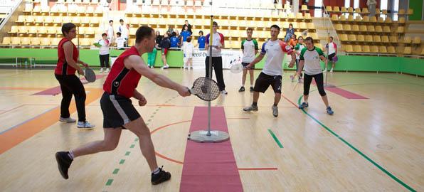 Championnat de France 2012 de Speed-Ball - Vannes, gymnase Kercado