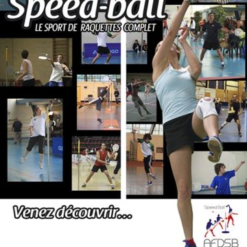 affiche de speed-ball