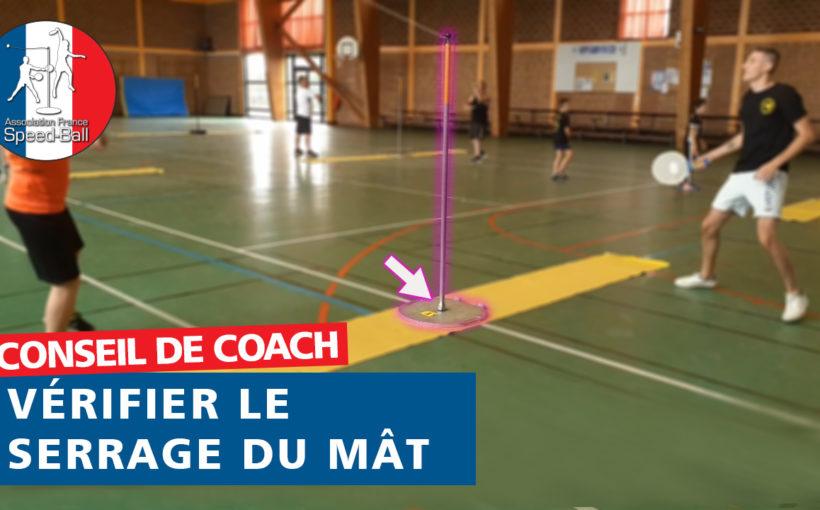 Conseil de Coach - Serrage Mât